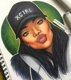 instagram post by a emiliaa mar 21 2016 at 5 30pm utc cartoon artblack girl