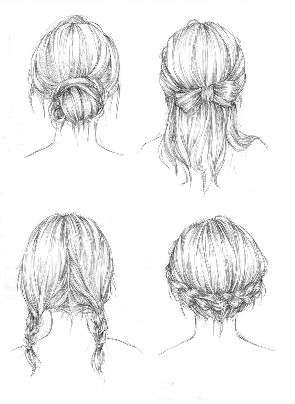 drawing art hair girl people female draw boy human guy hairstyles male reference tutorial chick references fucktonofanatomyreferences