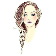how to draw a side braid google search