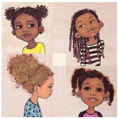 natural hair drawing natural hair art natural hair styles natural kids natural beauty