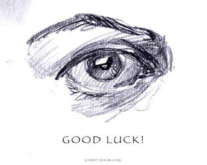 the art of iain mccaig how to draw an eye