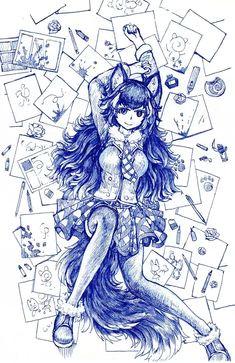 kemono friends wolf