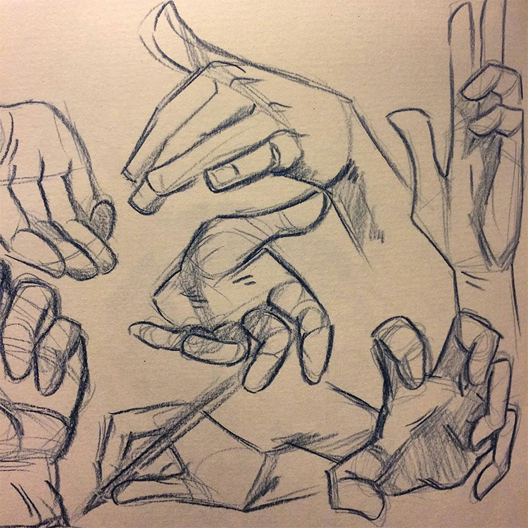 created by nikkidawes a basic hand practice
