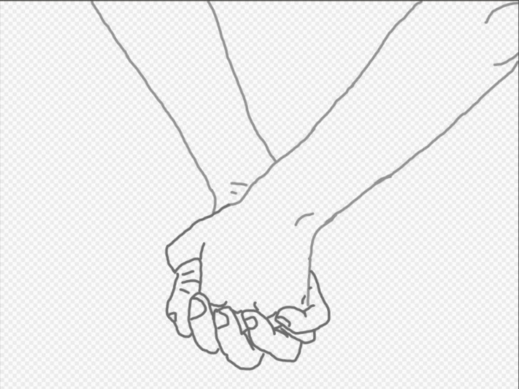 image titled draw a couple holding hands method 1 step 10 png