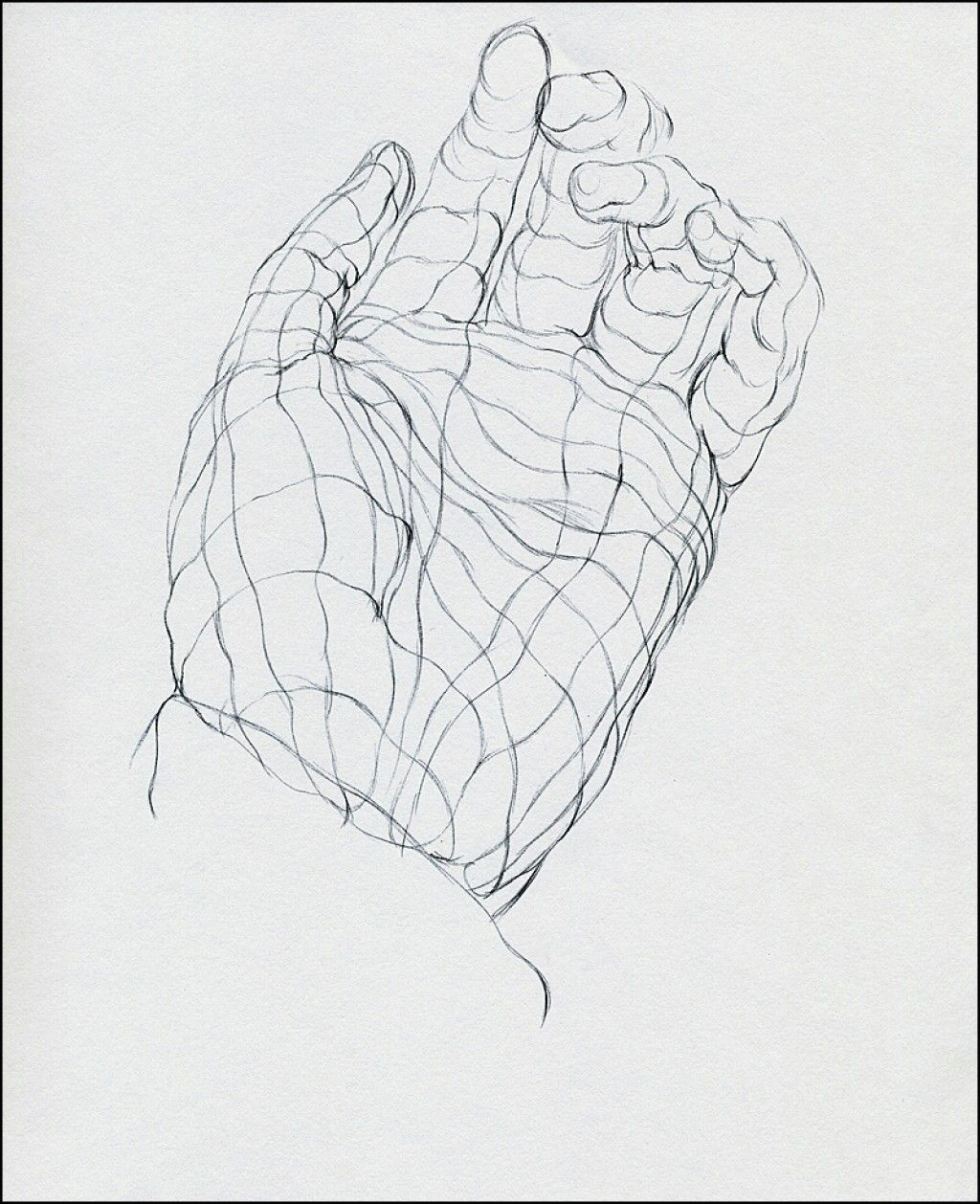 Drawing Hands Beginners Cross Contour Drawing for Beginners Drawing Drawings Contour