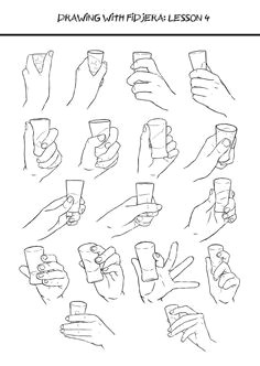 just hand reference