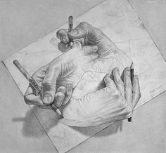 m c escher 3d pencil art 3d pencil drawings pavement art amazing drawings