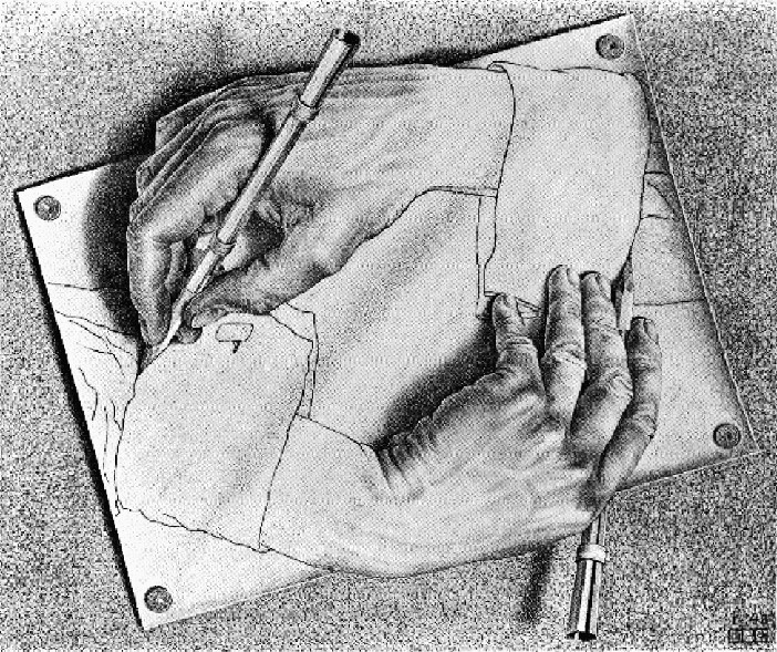 2 m c escher s drawing hands a c 2009 the m c escher company holland