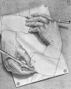 a real hand emerges from the not real hand and i can use this in my painting drawing to portray the real chaos that is happening in the world