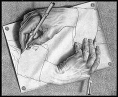 escher drawings escher drawing hands