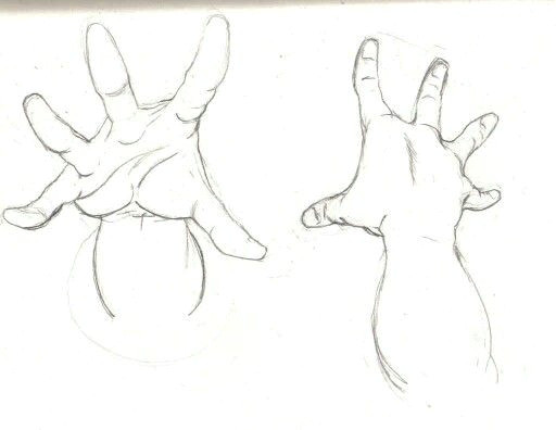 hands reaching up