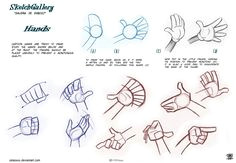 how to draw hands by celaoxxx