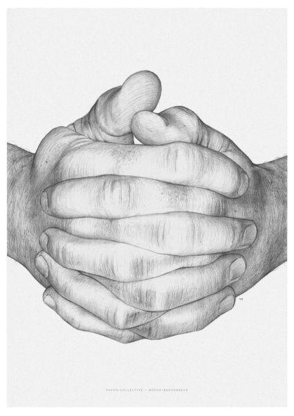 folded hands hviit no