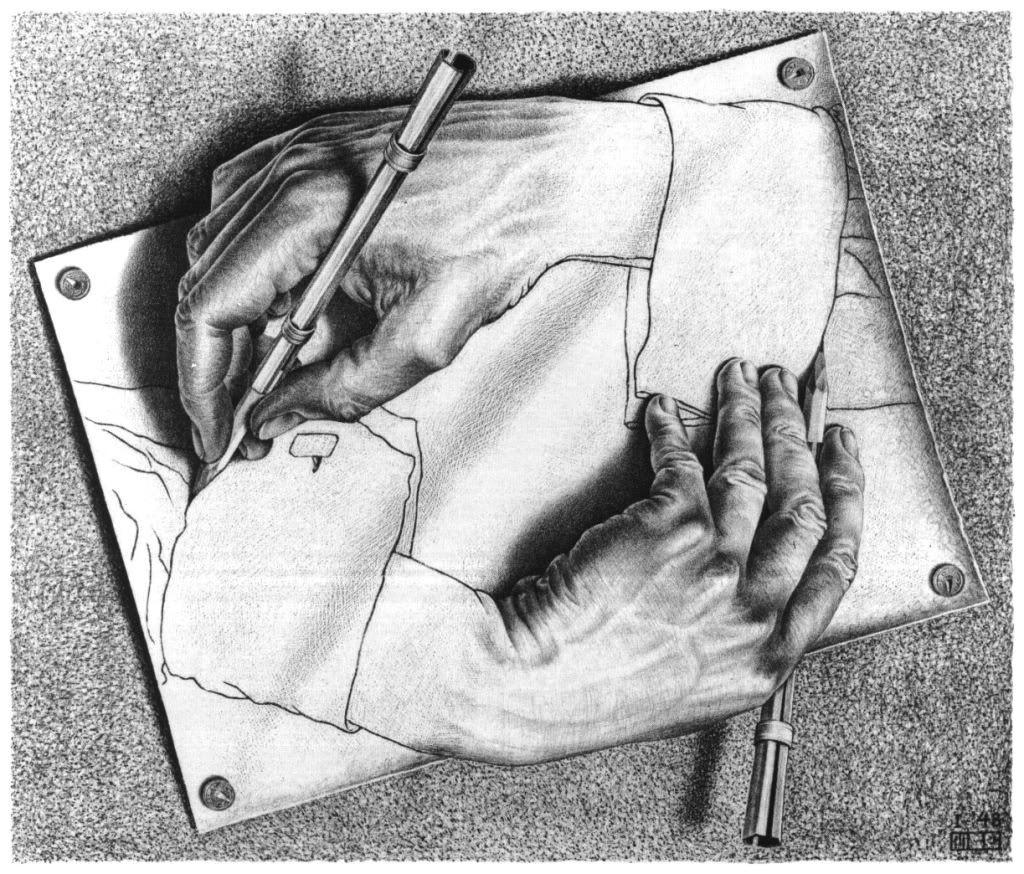 lithograph drawing hands mc escher lithograph 1948 photo drawing hands jpg