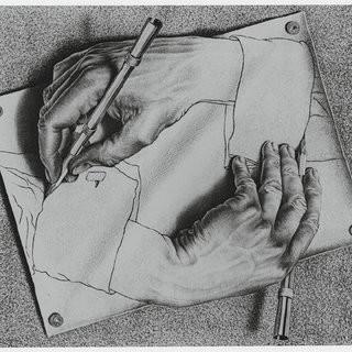 m c escher s drawing hands a c 2009 the m c escher company holland all