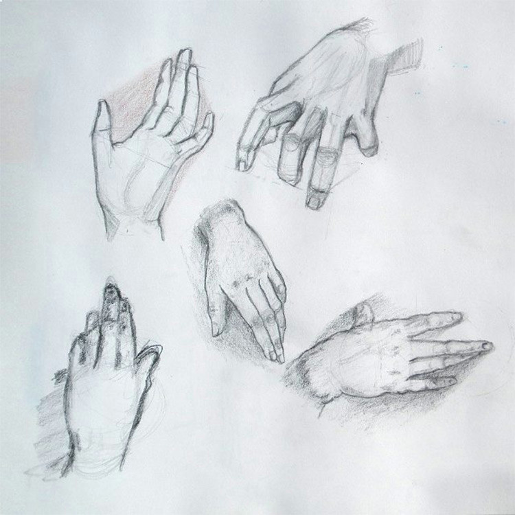 created by astralthunder a practice shading hand drawings