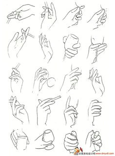 how to draw hands holding things