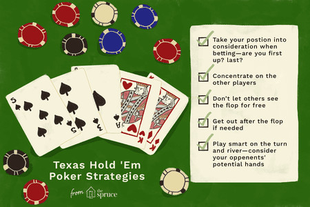 texas hold em poker strategies