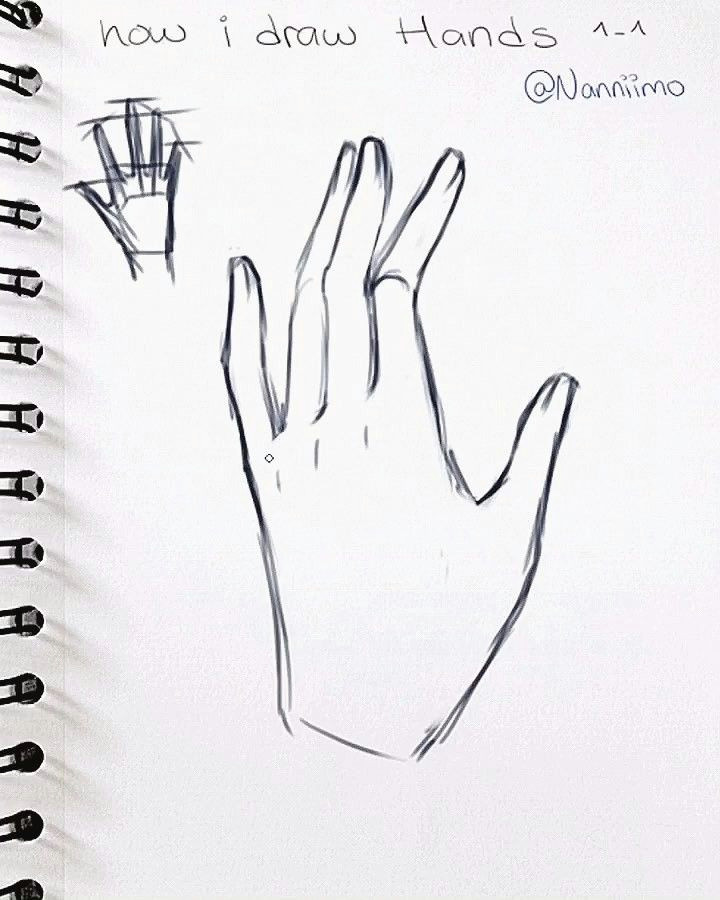 Drawing Hands Instagram 17k Likes 216 Comments Nanni Nanniimo On Instagram soooo