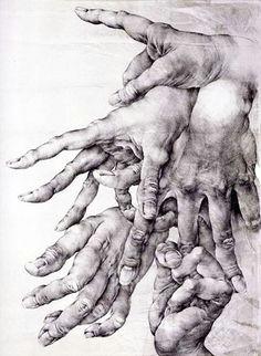 hands by olda ich kulhanek selected by gorgonia www gorgonia it hand art drawings