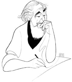 al hirschfeld hirschfeld would hide somewhere in his picture the name of his daughter nina