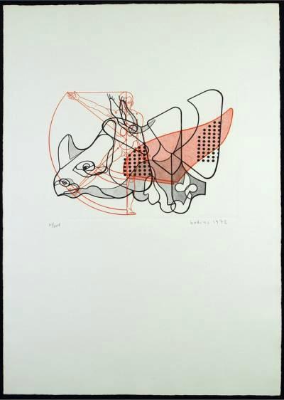 lithographie von floriano bodini von kunststoffarttrade
