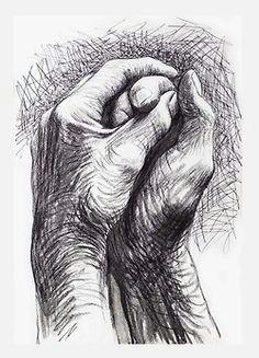 hande zeichnen henry moore the artists hands 1974