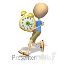 id 911 stickton carrying clock powerpoint animation