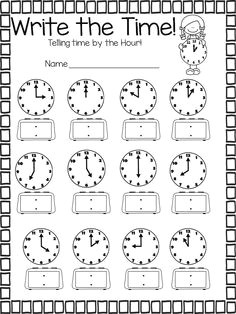 math printables telling time counting money and much more