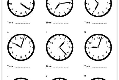 clock worksheets grade 3 telling time in spanish worksheets luxury free drawing hands to