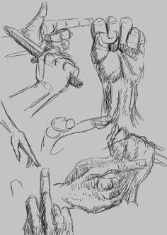 courtney james hand sketch