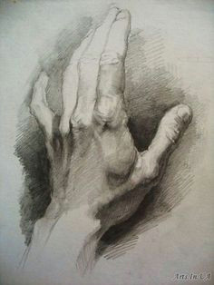 art academic drawing how to draw hands shading drawing drawing hands