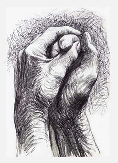 cave to canvas alecshao henry moore the artist s hands 1974 art sketches