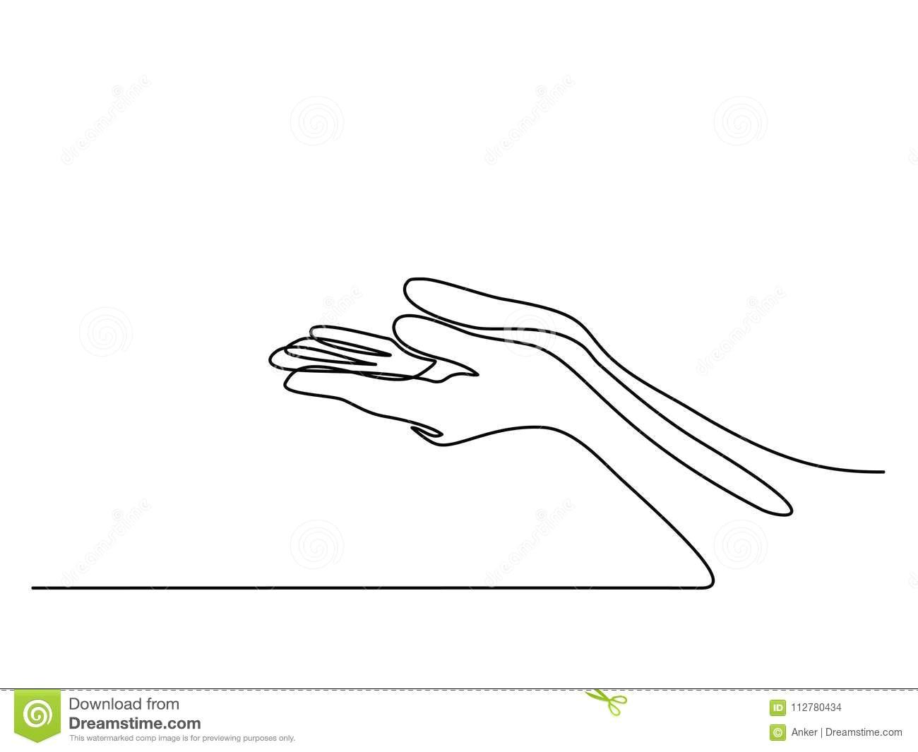 hands palms together