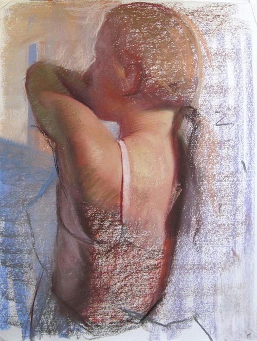 emil joseph robinson pastel drawing figure painting painting drawing life drawing