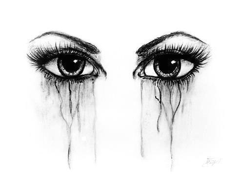 eyes sketch pencil made