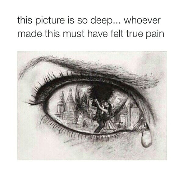 just like the picture drawings of eyes drawings for him heart break drawings