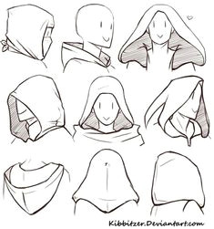 drawing hoods n stuff join kibbitzer on patreon to get access to this post and more benefits
