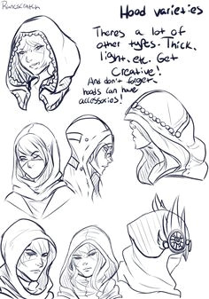 i ve been asked a lot about how i draw hoods mostly talon s hood so i hope this helps a little just a pretty basic thing but hey there ya go hoods are