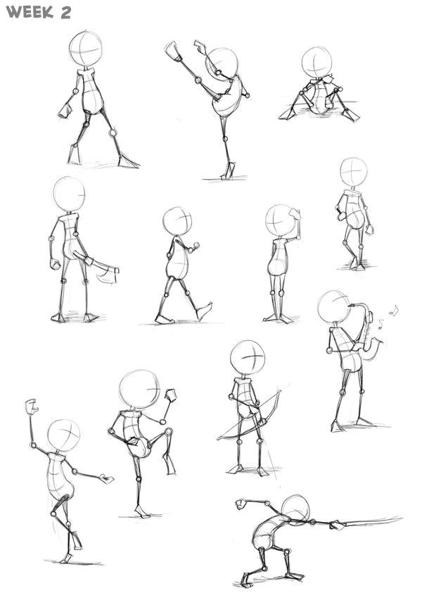 dynamic animated poses google search
