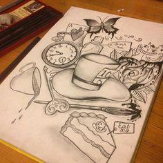 alice in wonderland drawing ideas alice in wonderland drawing