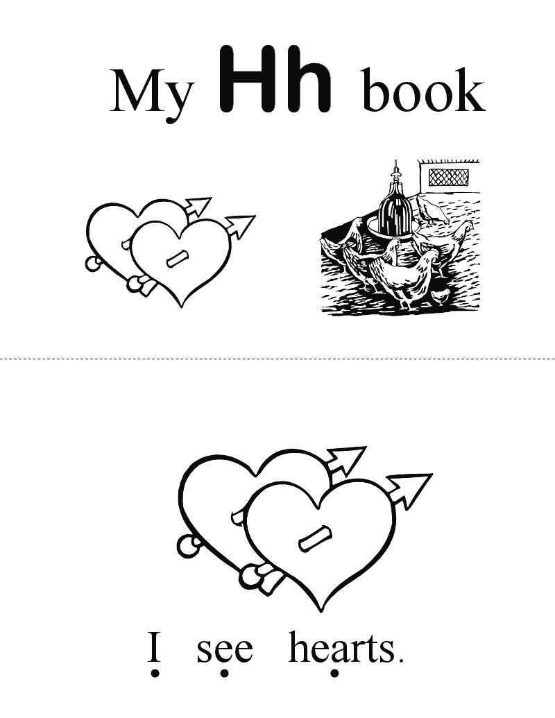 letter book h pdf