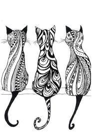 vaizdo rezultatas pagal ua klausa cat drawing cat mandala animal mandala tattoo mandala