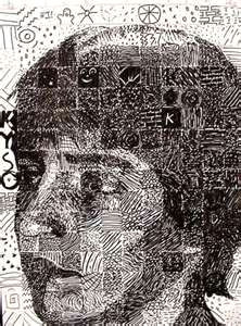 image detail for art lesson plan chuck close grid drawing