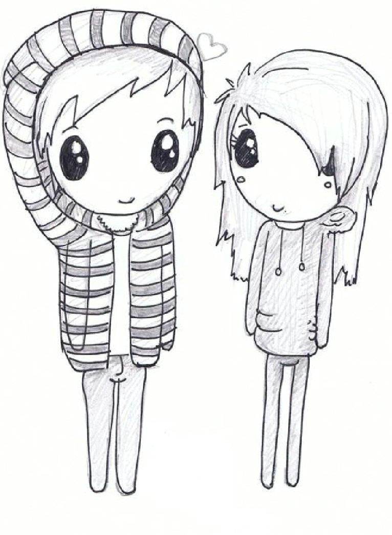 cute love drawings