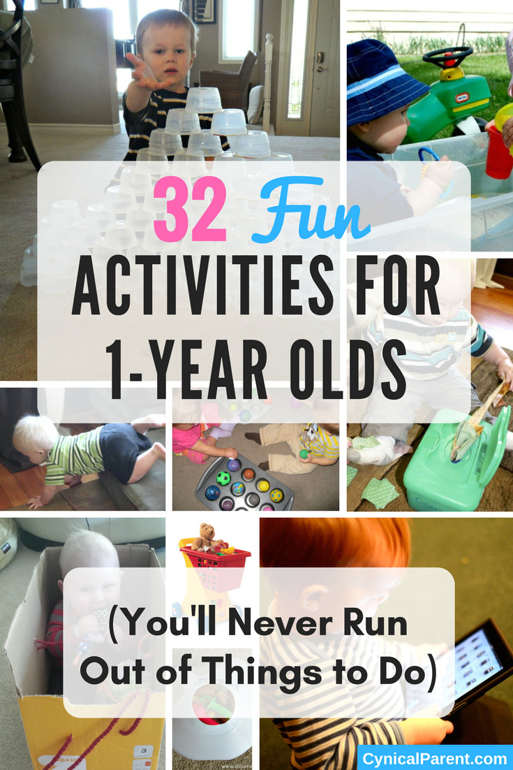 32 fun activities for 1 year olds you ll never run out of things to do