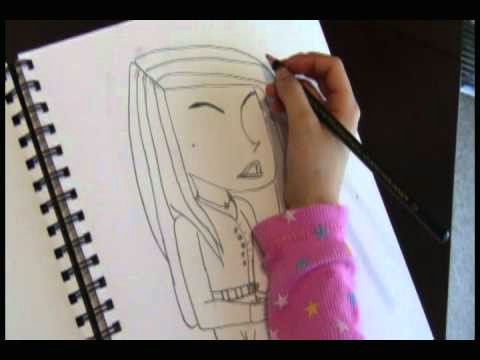 8 year old girl free hands original picture of young woman