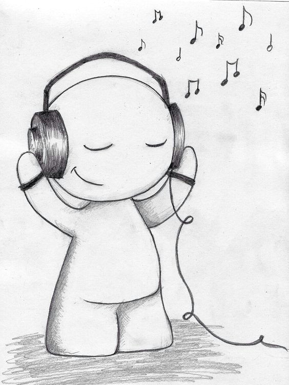 draw a your musical happiness