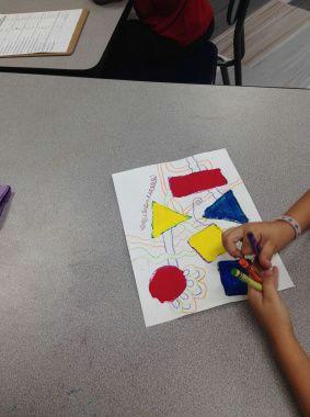 1st grade line designs shapes line color theory artsed artsedchat