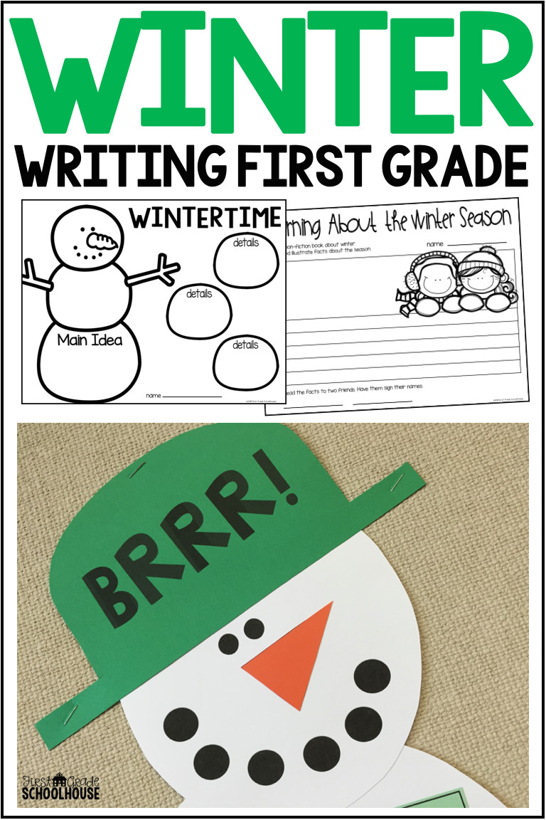 this is a fun packet of ideas and prompts to engage your first grade and homeschool